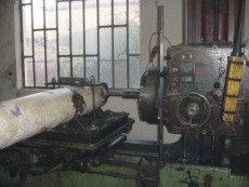 regeneration of the lower clamping cylinder